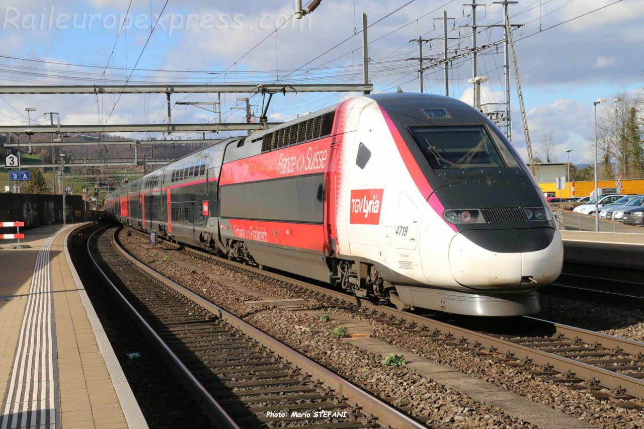 TGV Lyria à Liestal (CH)