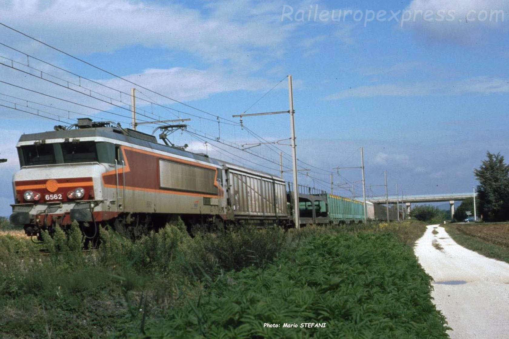 CC 6562 SNCF à Pierrelatte (F-26)