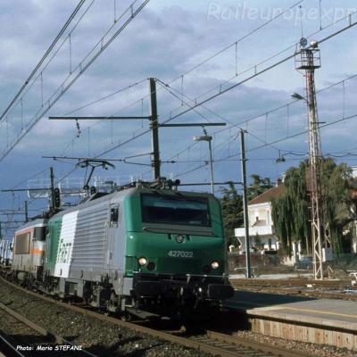 BB 27022 SNCF à Orange (F-26)