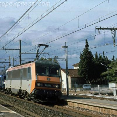 BB 26225 SNCF à Orange (F-84)