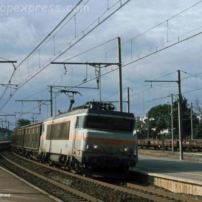BB 7227 SNCF à Orange (F-84)