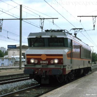 CC 6563 SNCF à Pierrelatte (F-26)