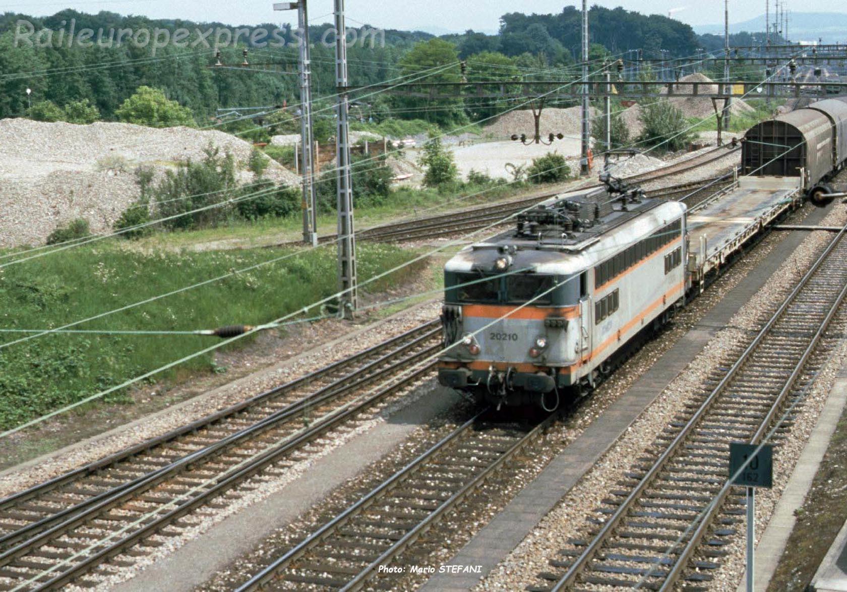 BB 20210 SNCF à Muttenz (CH)