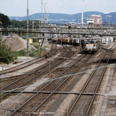 BB 20200 SNCF à Muttenz (CH)