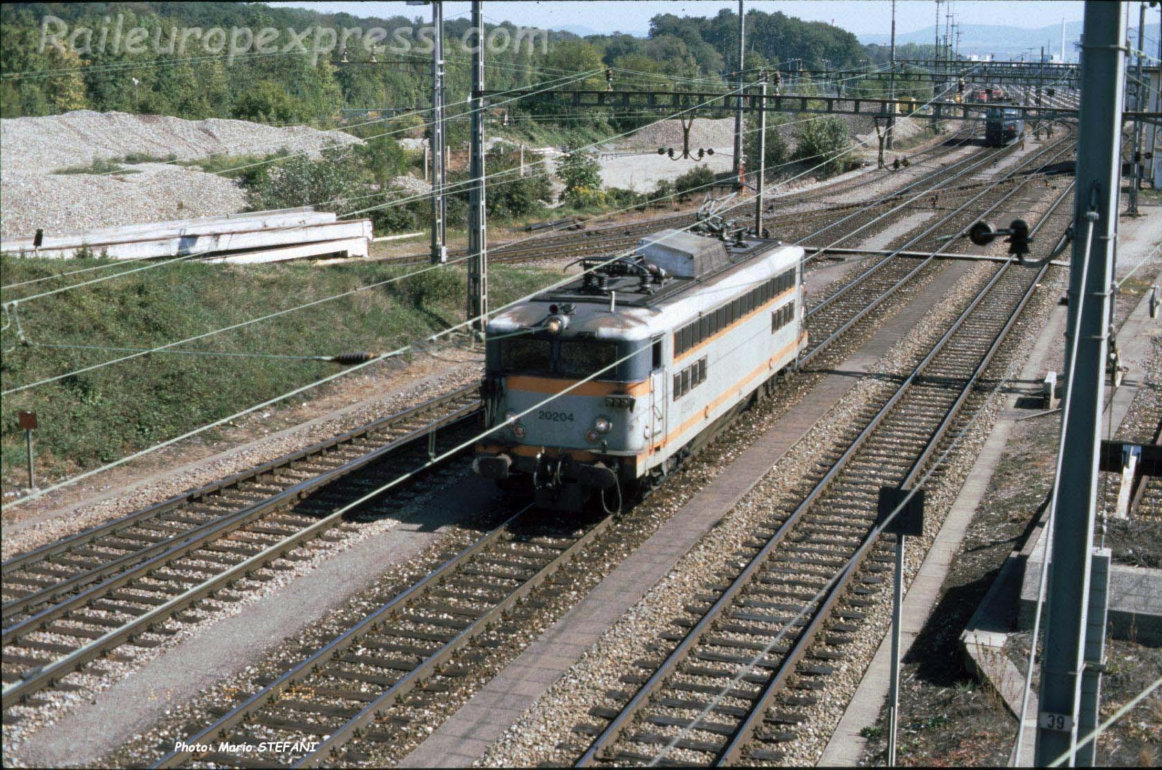 BB 20204 SNCF à Muttenz (CH)
