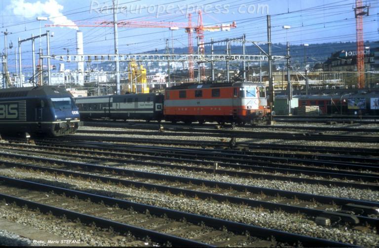 Re 4/4 II 11106 CFF à Zürich (CH)