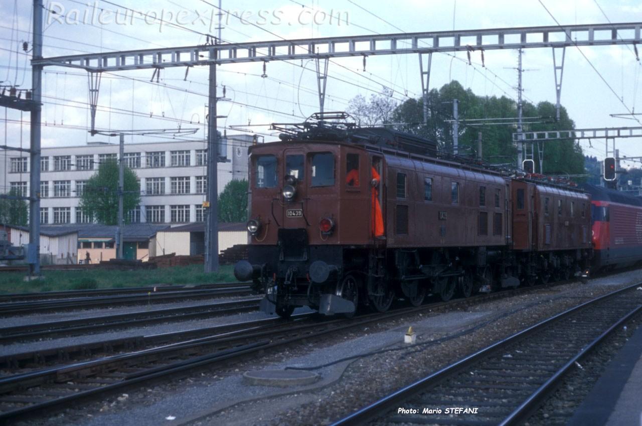 Ae 3/6 II 10439 CFF à Yverdon (CH)