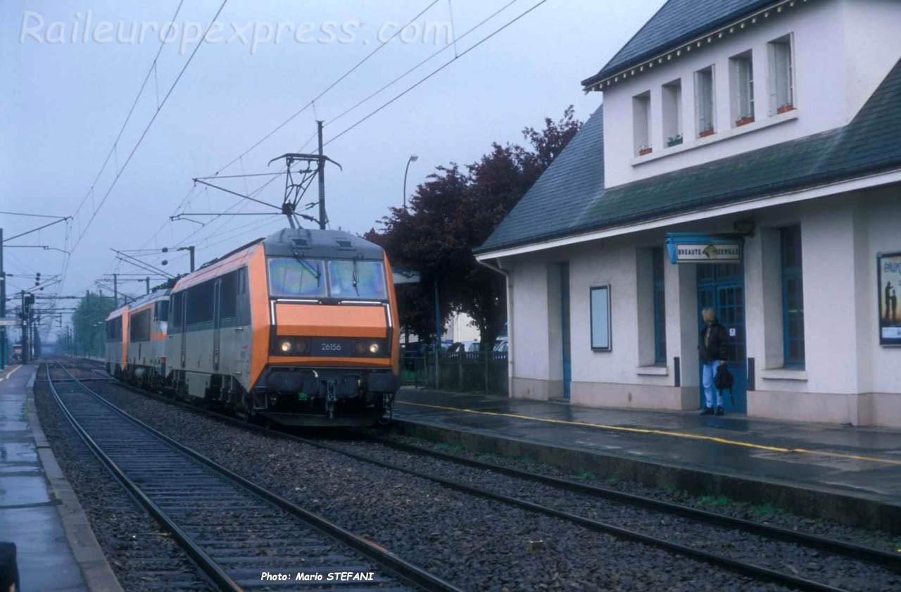 BB 26156 SNCF à Bréauté-Beuzeville (F-76)