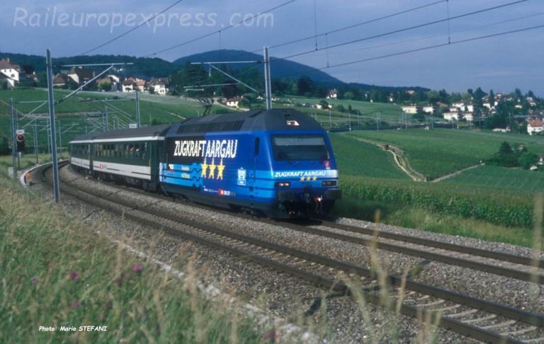 Re 460 034-2 CFF à Auvernier (CH)