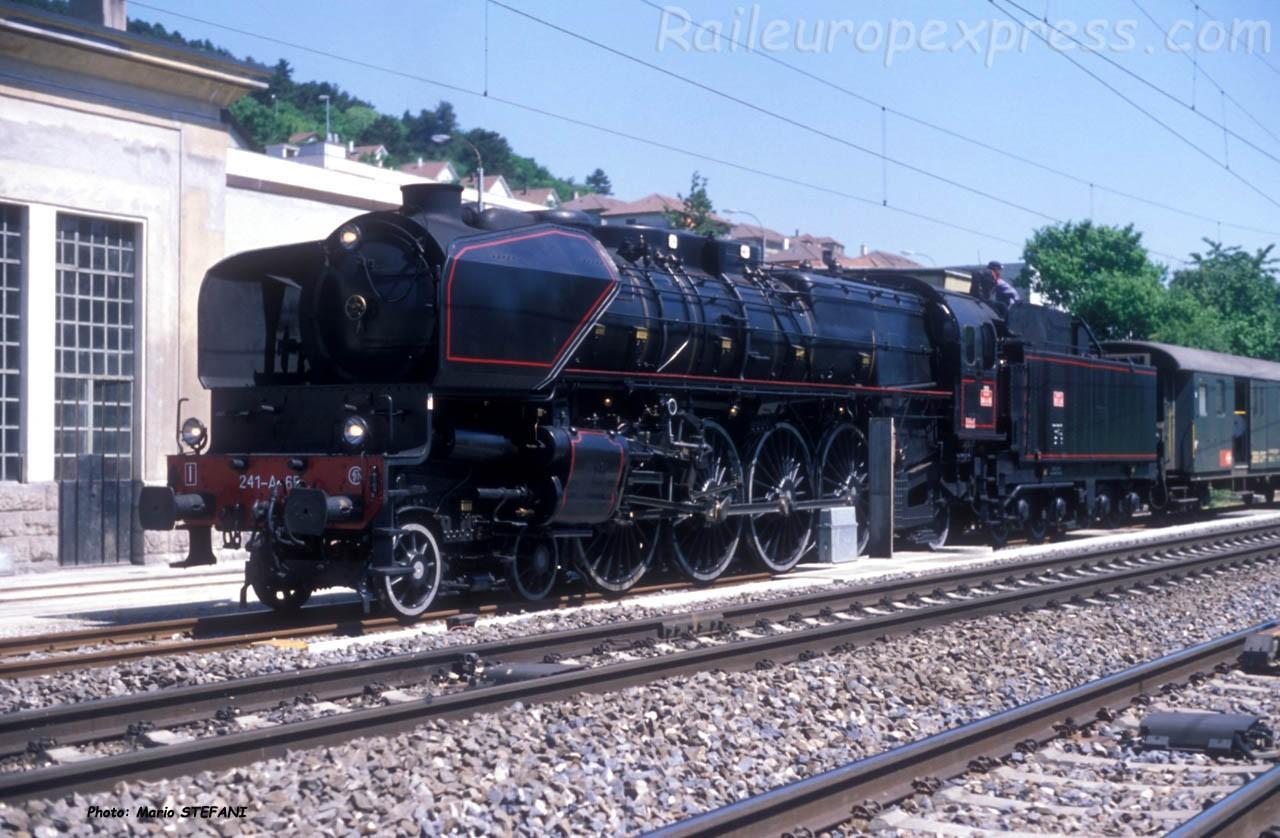 241 A 65 SNCF à Neuchâtel (CH)