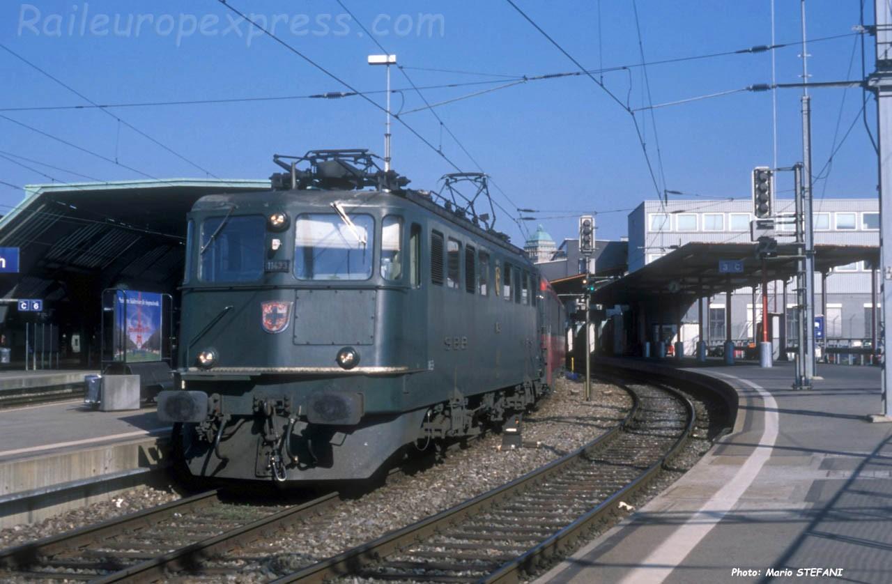 Ae 6/6 11433 CFF à Zürich (CH)