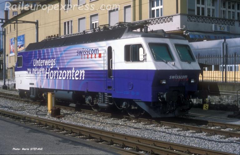 Re 446 SOB à Luzern (CH)