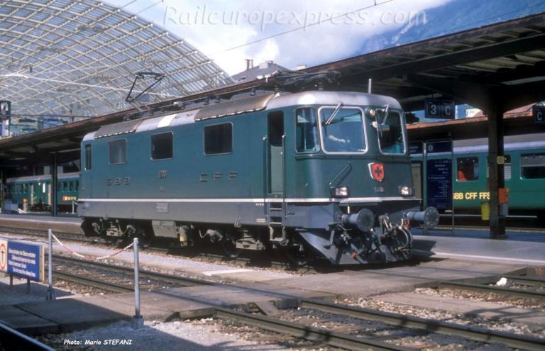 Re 4/4 II CFF à Chur (CH)