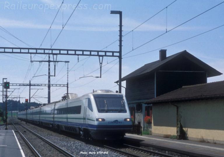 ETR 470 Cisalpino à Hindelbank (CH)