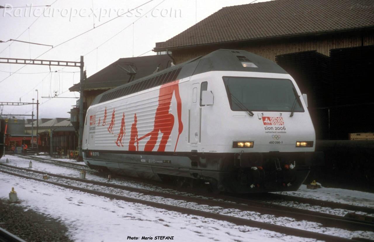 Re 460 096-1 CFF à Yverdon (CH)