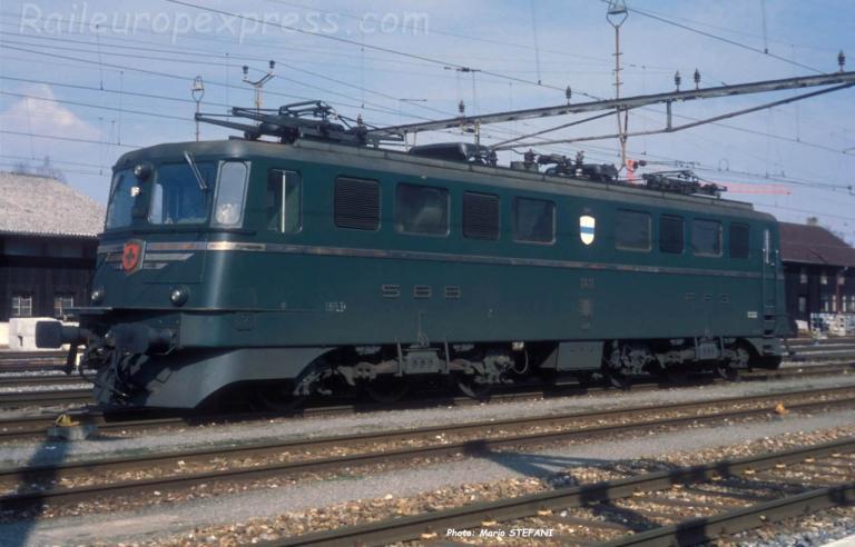 Ae 6/6 11411 CFF à Solothurn (CH)