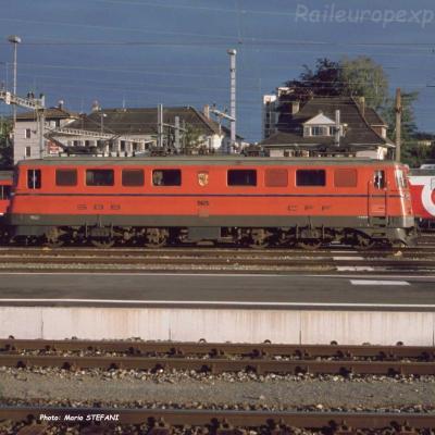 Ae 6/6 11425 CFF à Solothurn (CH)