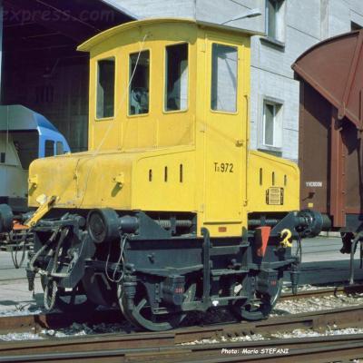 Ta 972 CFF à Yverdon (CH)