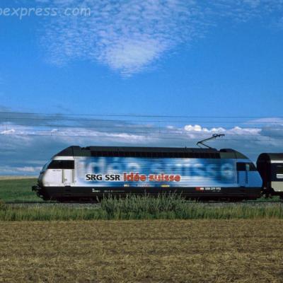 Re 460 020-1 CFF à Boudry (CH)