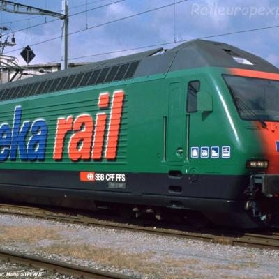Re 460 062-3 CFF à Yverdon (CH)
