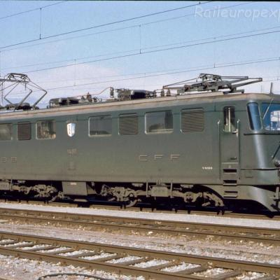 Ae 6/6 11480 CFF à Yverdon (CH)
