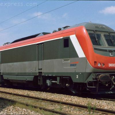 BB 36002 SNCF à Pontarlier (F-25)