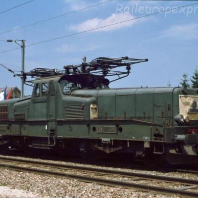 BB 12035 SNCF à Pontarlier (F-25)