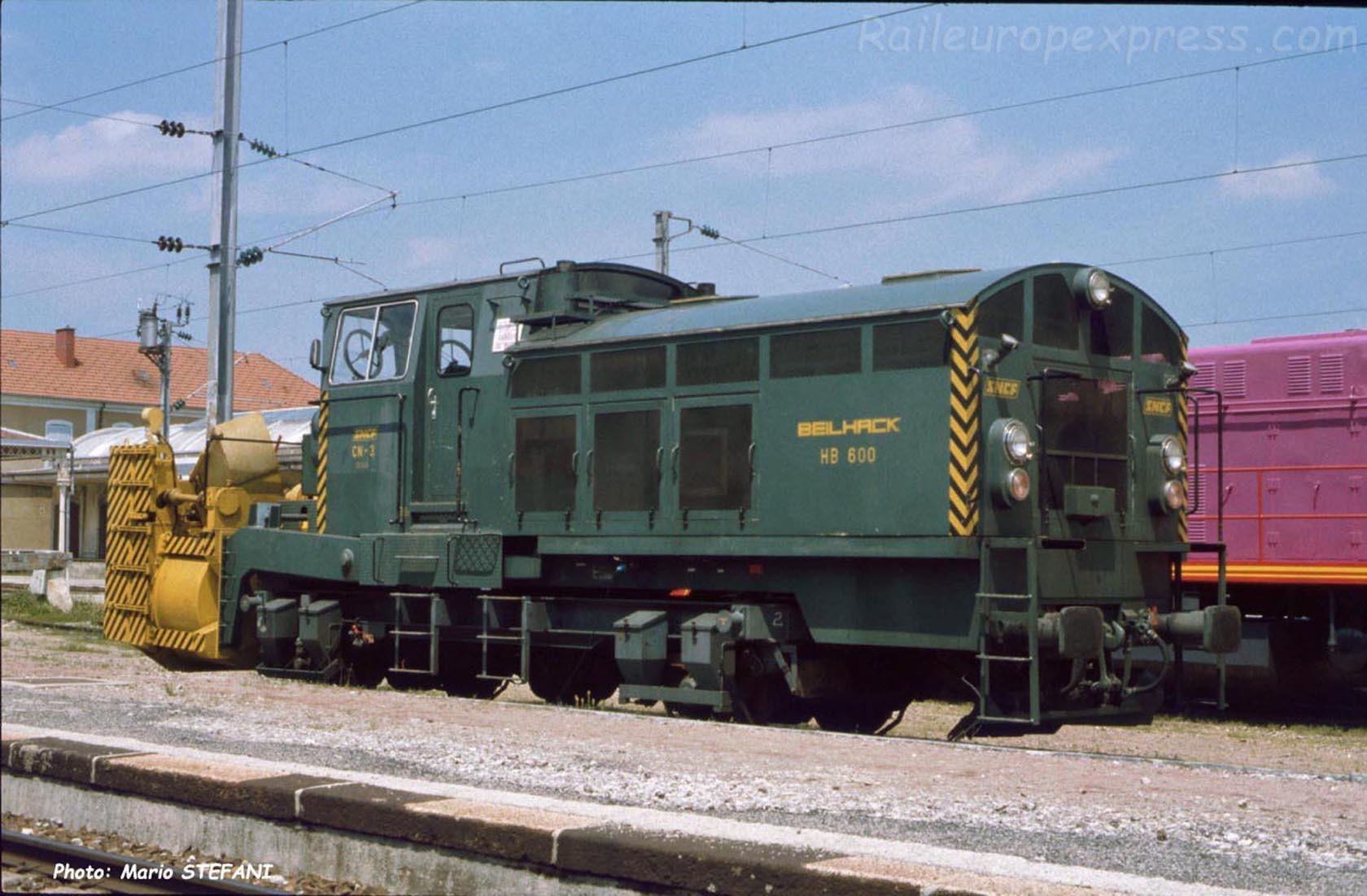 CN 2 SNCF à Pontarlier (F-25)