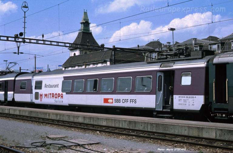 WR III CFF à Basel (CH)