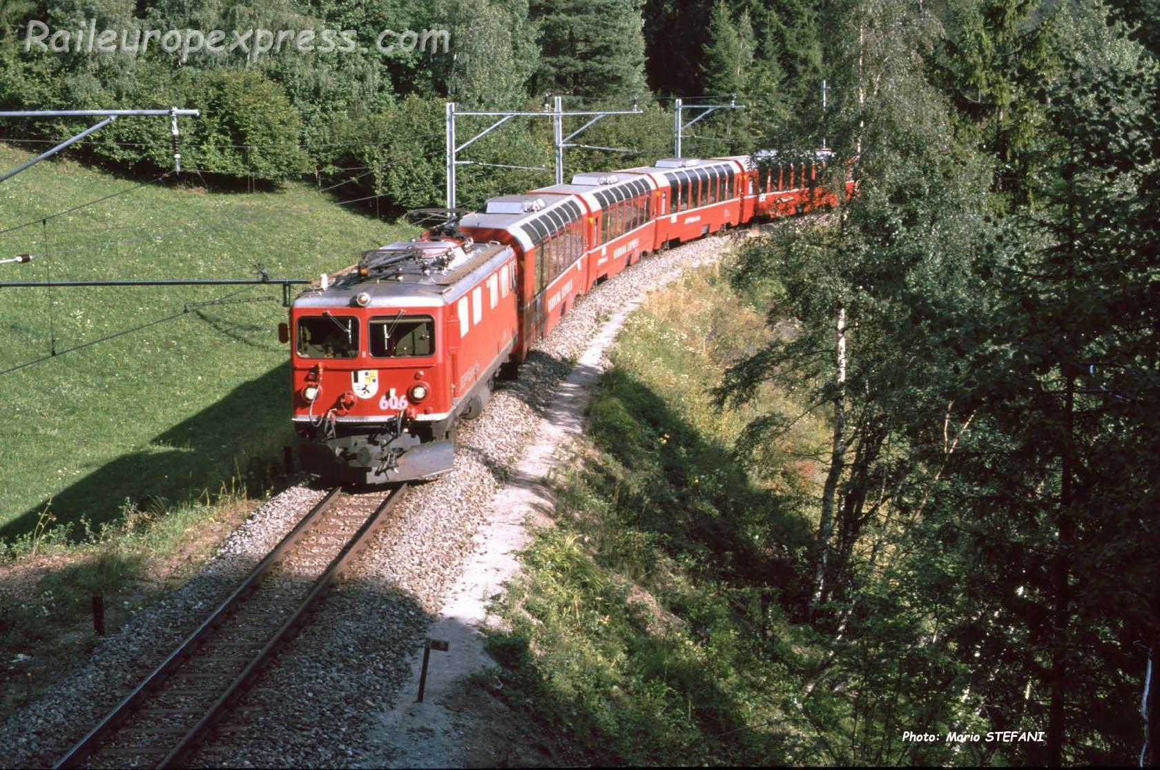 Ge 4/4 I 606 RhB à Filisur (CH)