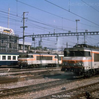 BB 7325 SNCF à Genève (CH)