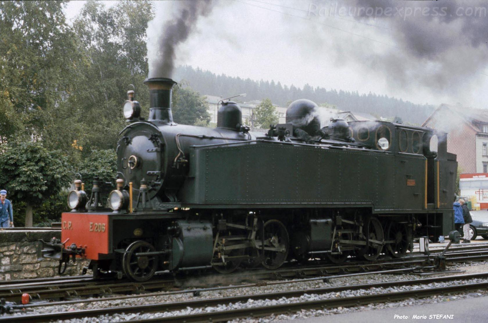 E 206 CJ à Tramelan (CH)