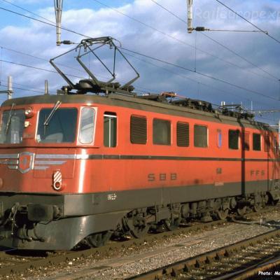Ae 6/6 11401 CFF à Yverdon (CH)