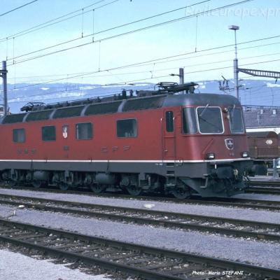 Re 6/6 11618 CFF à Yverdon (CH)