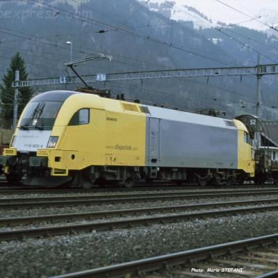 1116 903-4 Dispolok à Frutigen (CH)