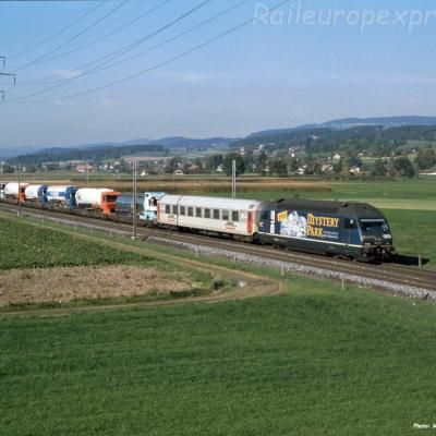 Re 465 003-2 BLS à Kiesen (CH)