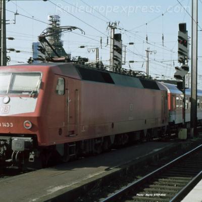 120 143-3 DB à Köln (D)