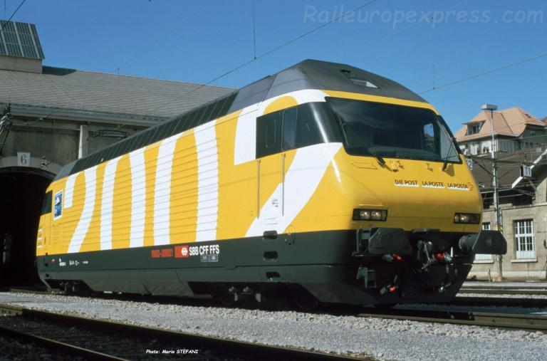 Re 460 083-9 CFF à Bern (CH)