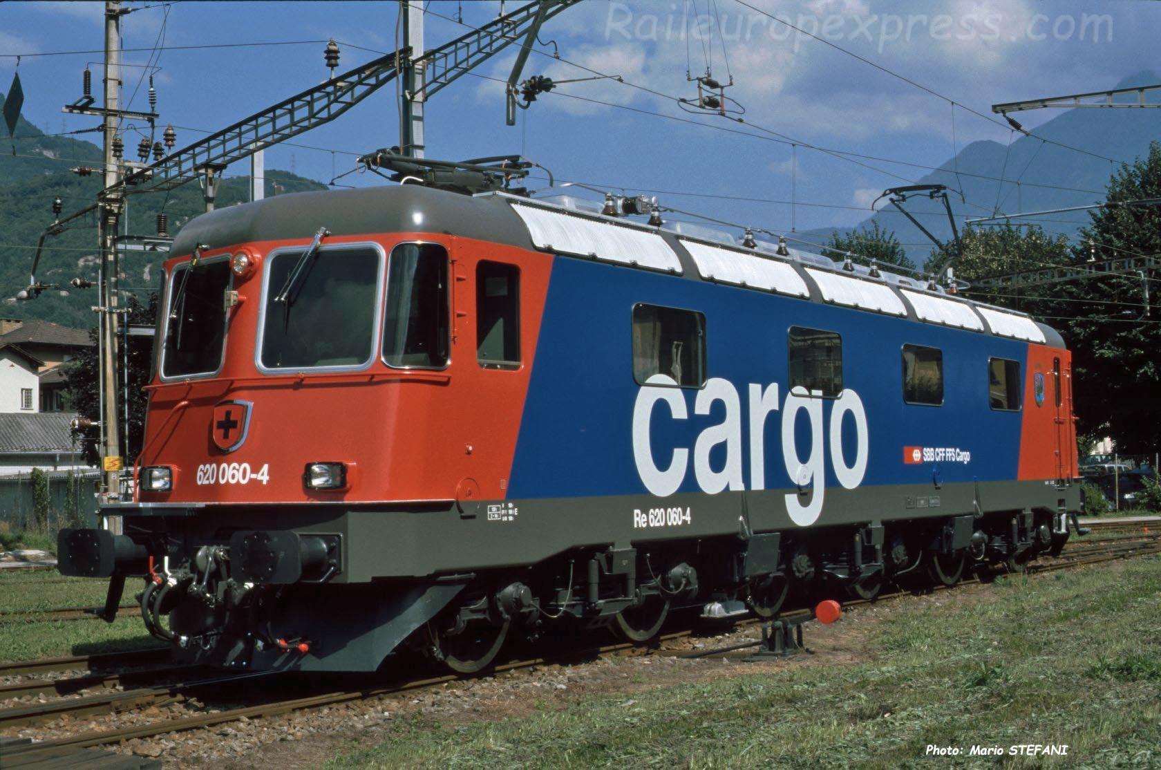 Re 620 060-4 CFF à Bellinzona (CH)