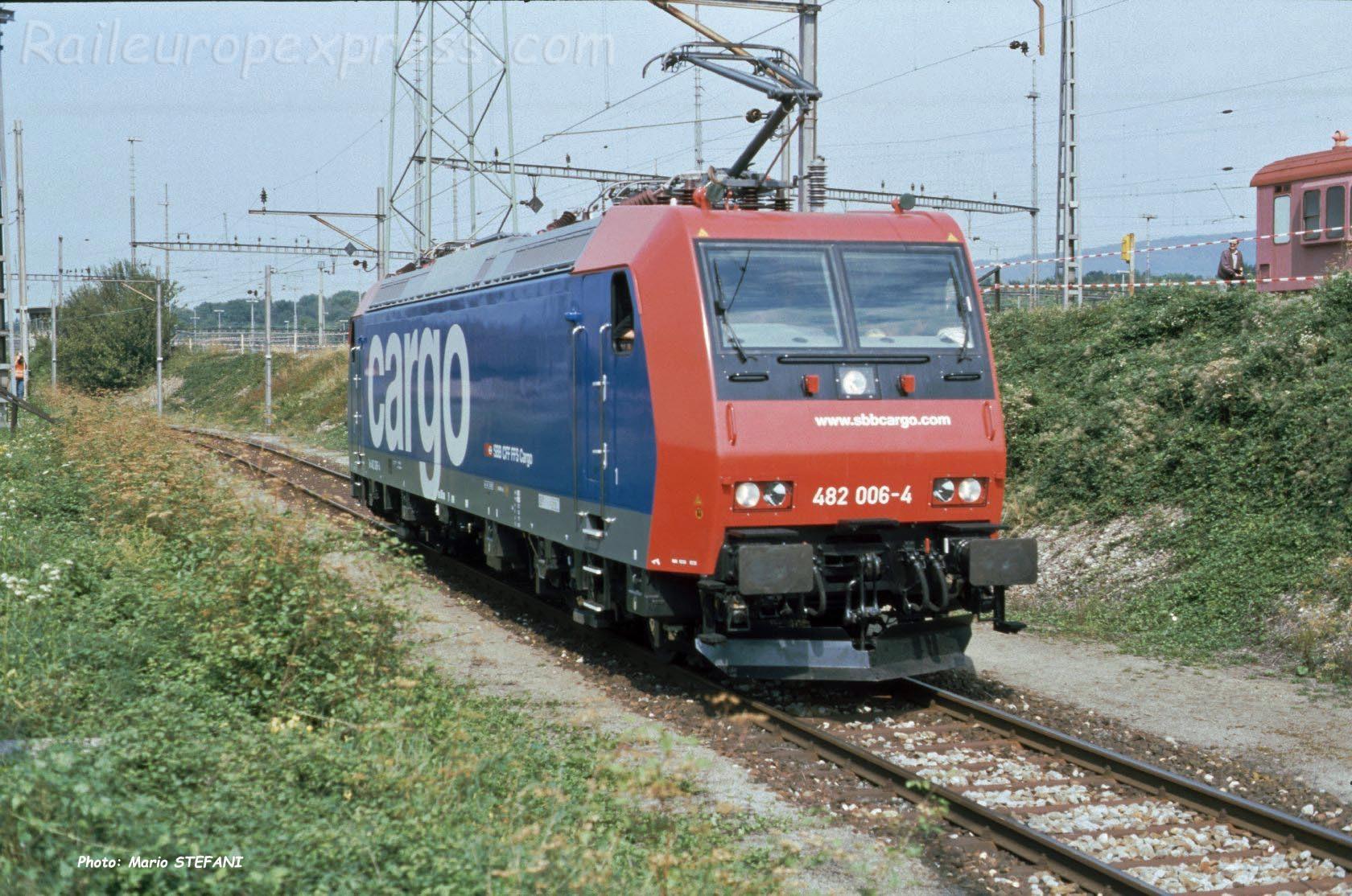 Re 482 006-4 CFF à Muttenz (CH)