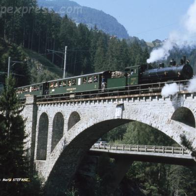 G 4/5 107 RhB Soliserbrücke
