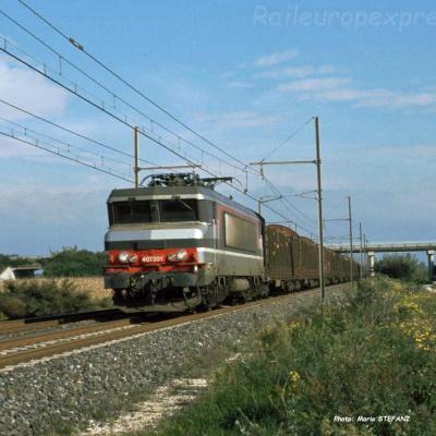 BB 7201 SNCF à Pierrelatte (F-26)