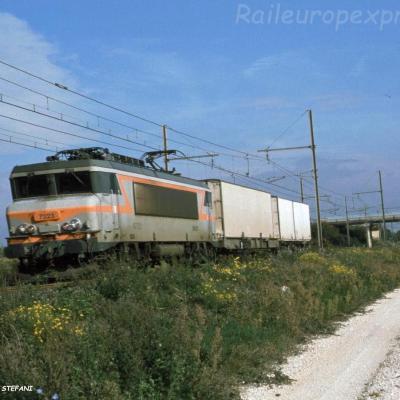 BB 7323 SNCF à Pierrelatte (F-26)