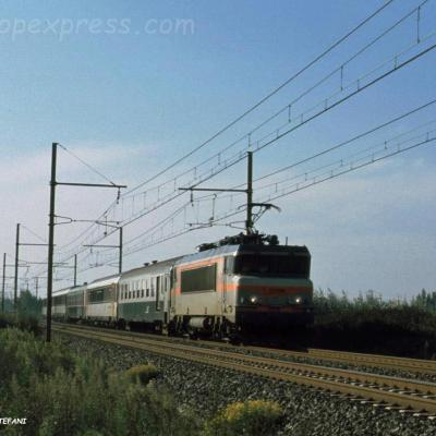BB 22338 SNCF à Pierrelatte (F-26)