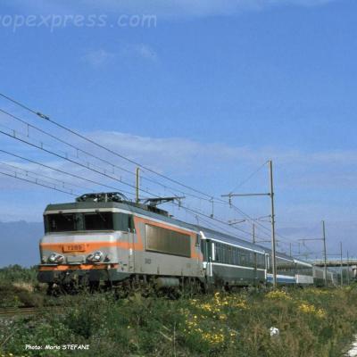 BB 7289 SNCF à Pierrelatte (F-26)