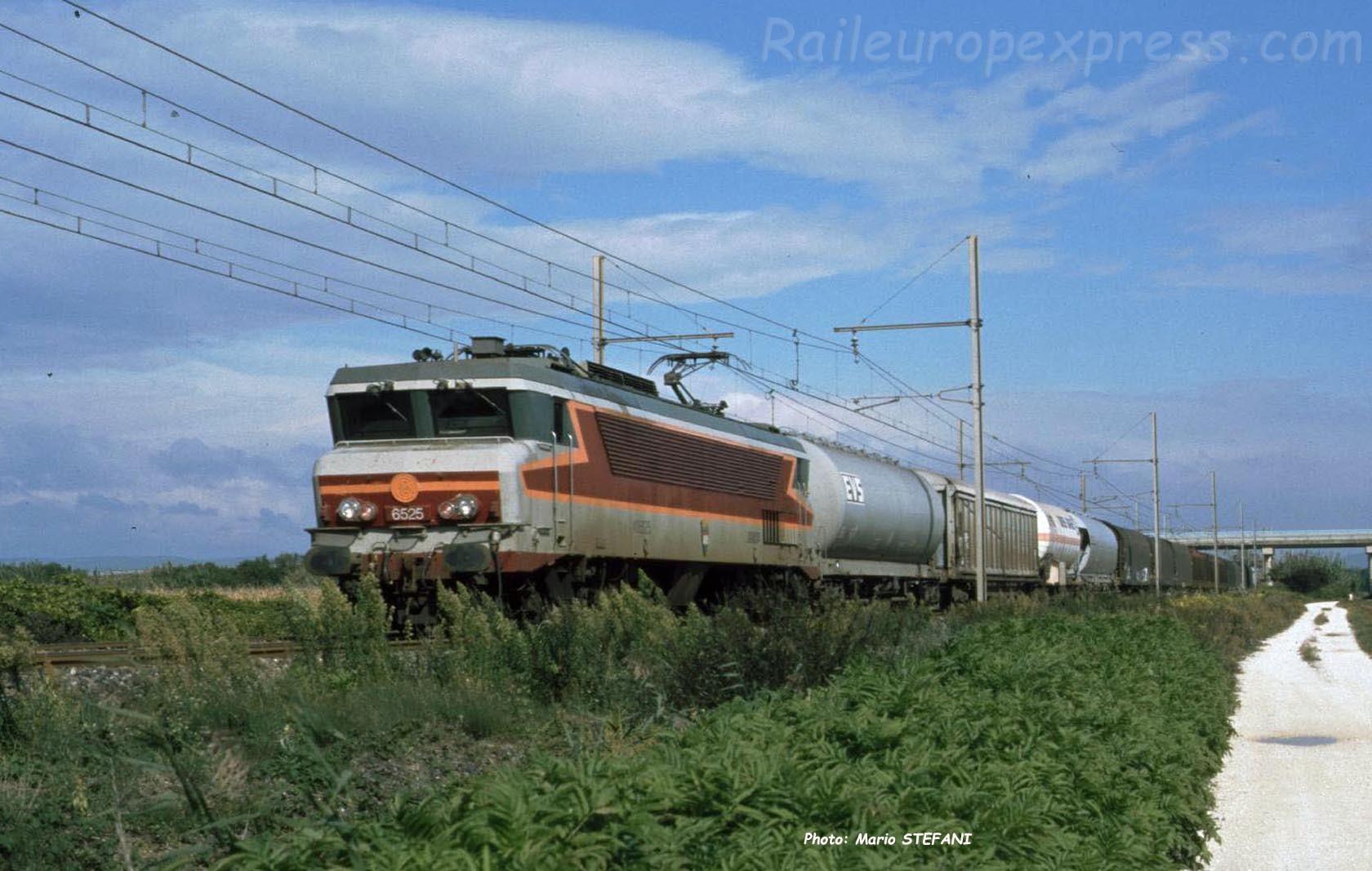 CC 6525 SNCF à Pierrelatte (F-26)