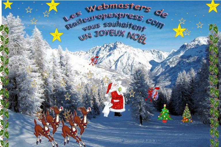 Joyeux Noël à toutes et tous.