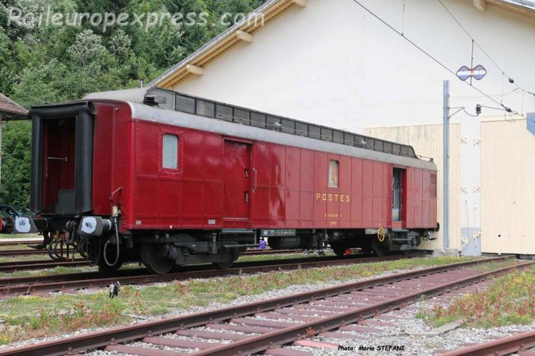 PAz SNCF à Vallorbe (CH)