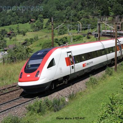 RABDe 500 CFF à Ertsfeld (CH)