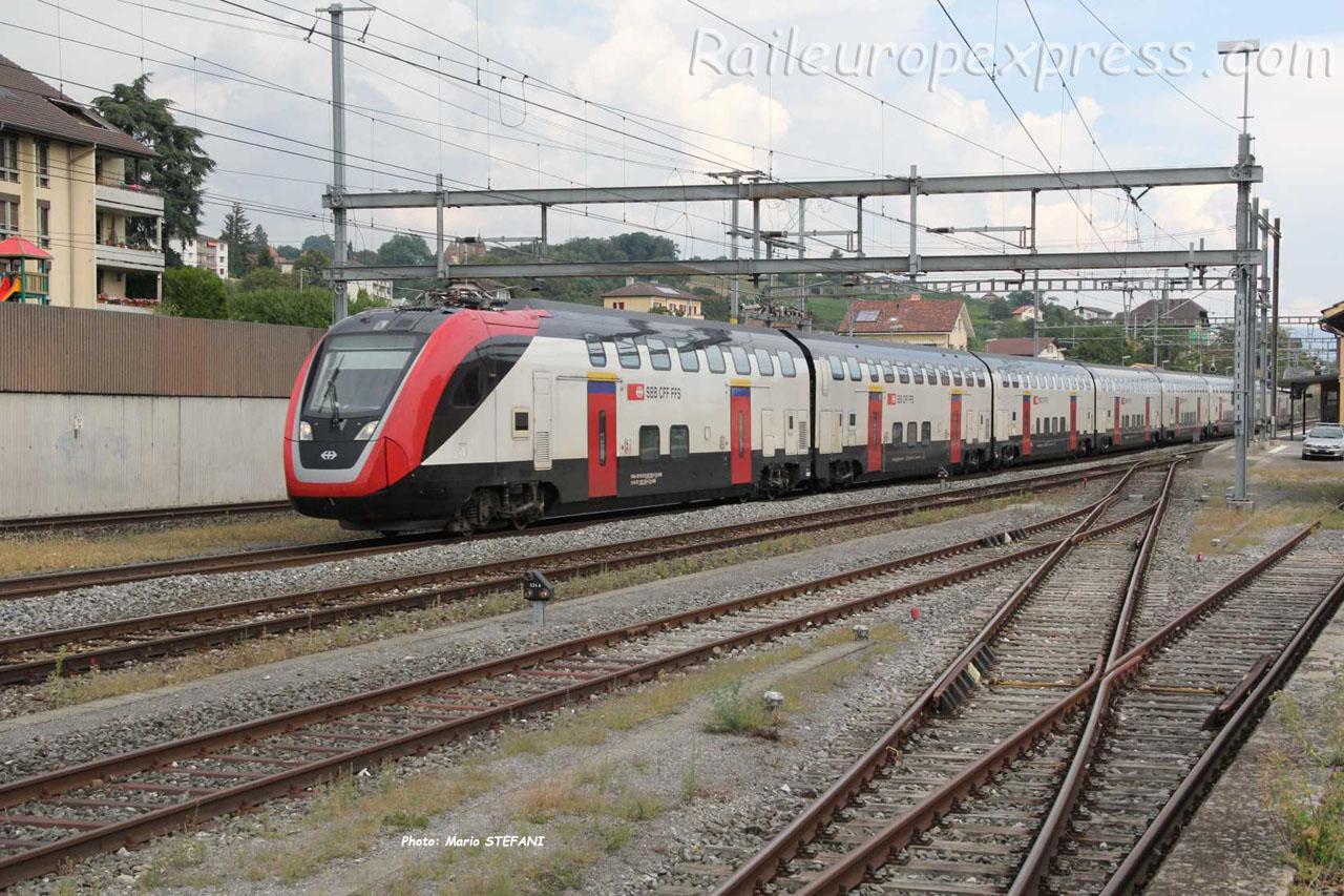 RABe 502 203-8 CFF à Gorgier Saint Aubin (CH)
